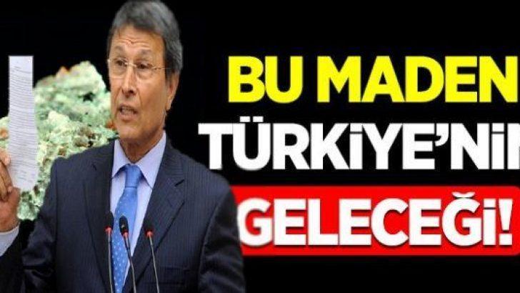 Toryum madeni Türkiye'nin geleceği