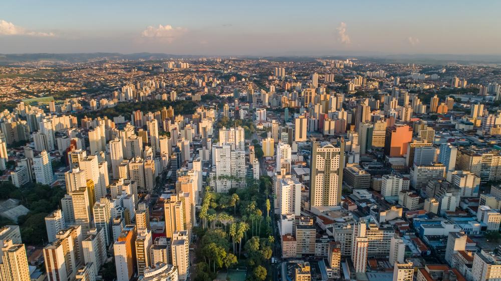 Campinas é considerada uma das cidades mais inteligentes do Brasil pelo ranking Smart Connected Cities. (Fonte: Shutterstock)
