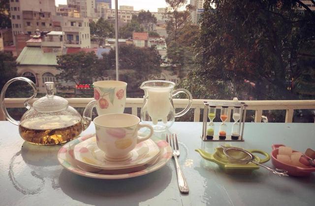 Trà chiều tại Partea - English tearoom (floor 4) 42 Nguyễn Huệ Q1, TPHCM - 42 Nguyễn Huệ, Quận 1, TPHCM - undefined