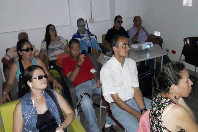La Corporación de Cultura y Turismo realizó una nueva jornada de Cine Accesible