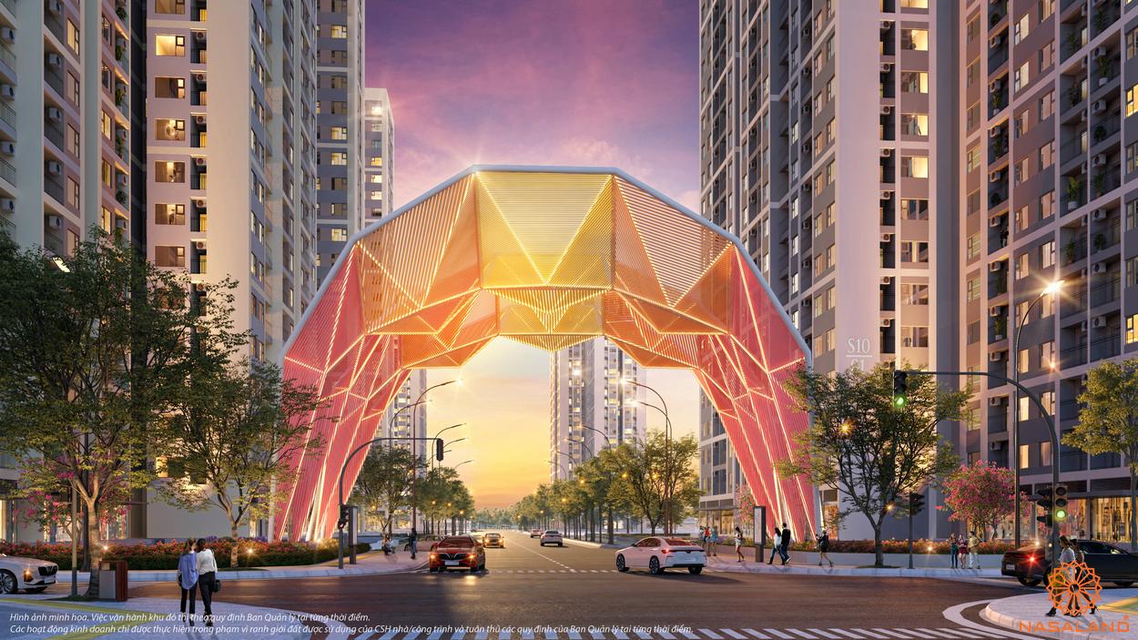 Mặt bằng The Origami Zen S10 - Cổng chào phân khu
