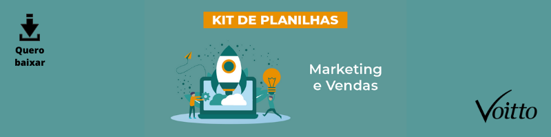 Kit de Planilhas de Marketing