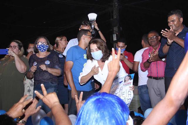 Mary dar largada na campanha em primeiro bate-papo no Viradouro
