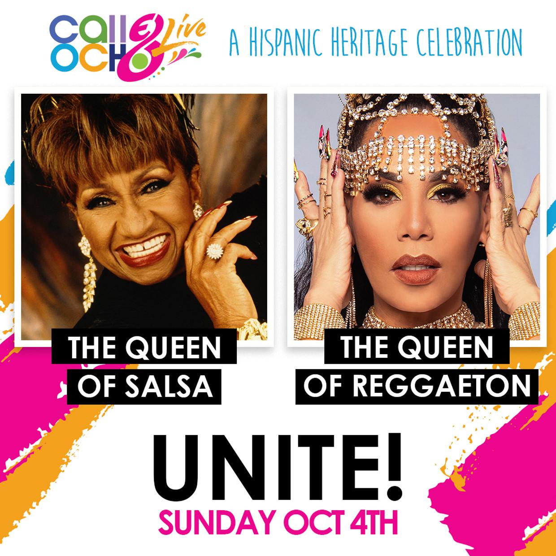 Ivy Queen y Celia Cruz se unirán en un épico dueto virtual durante el festival 'Calle Ocho Live' 1