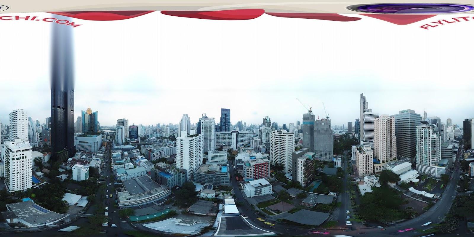 Litchi stitching in app - Bangkok Tourism hub