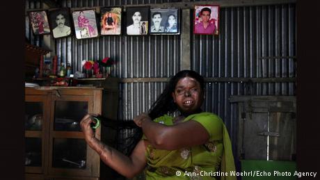 Farida aus Bangladesch (Foto: Ann-Christine Woehrl/Echo Photo Agency)