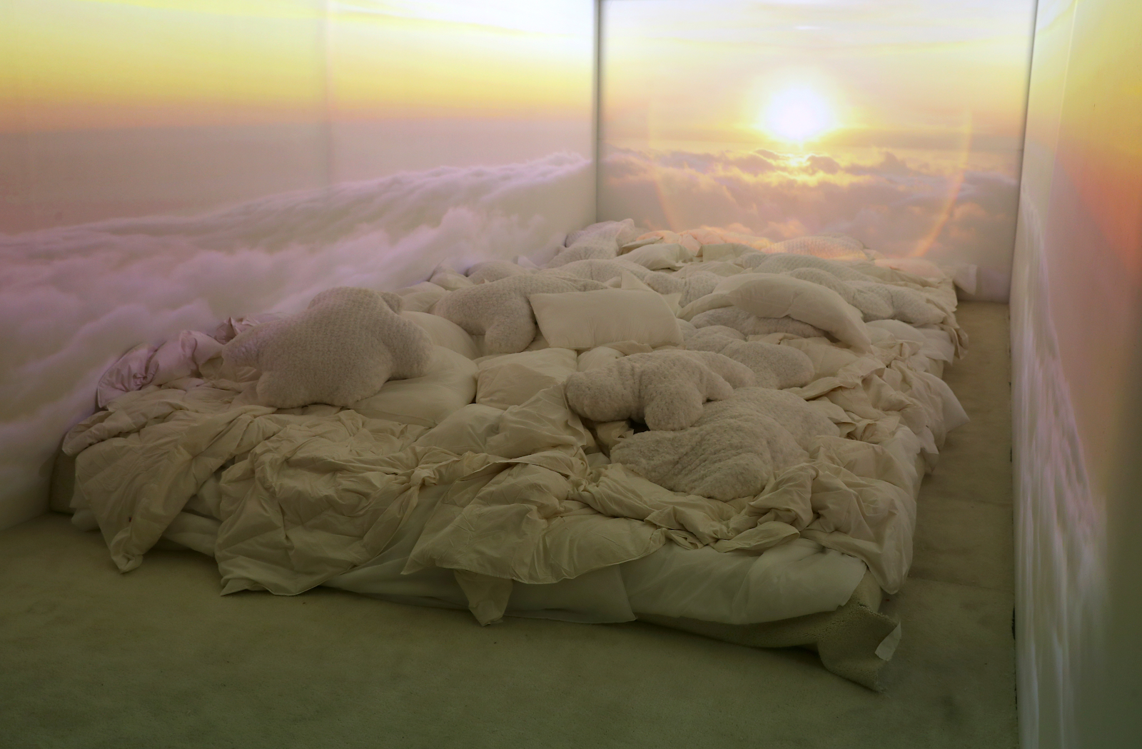 Image of a room within Spotify's Billie Eilish Experience