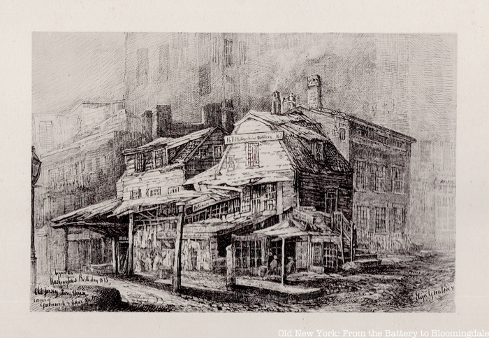 Jersey House by Eliza Greatorex in Old New York