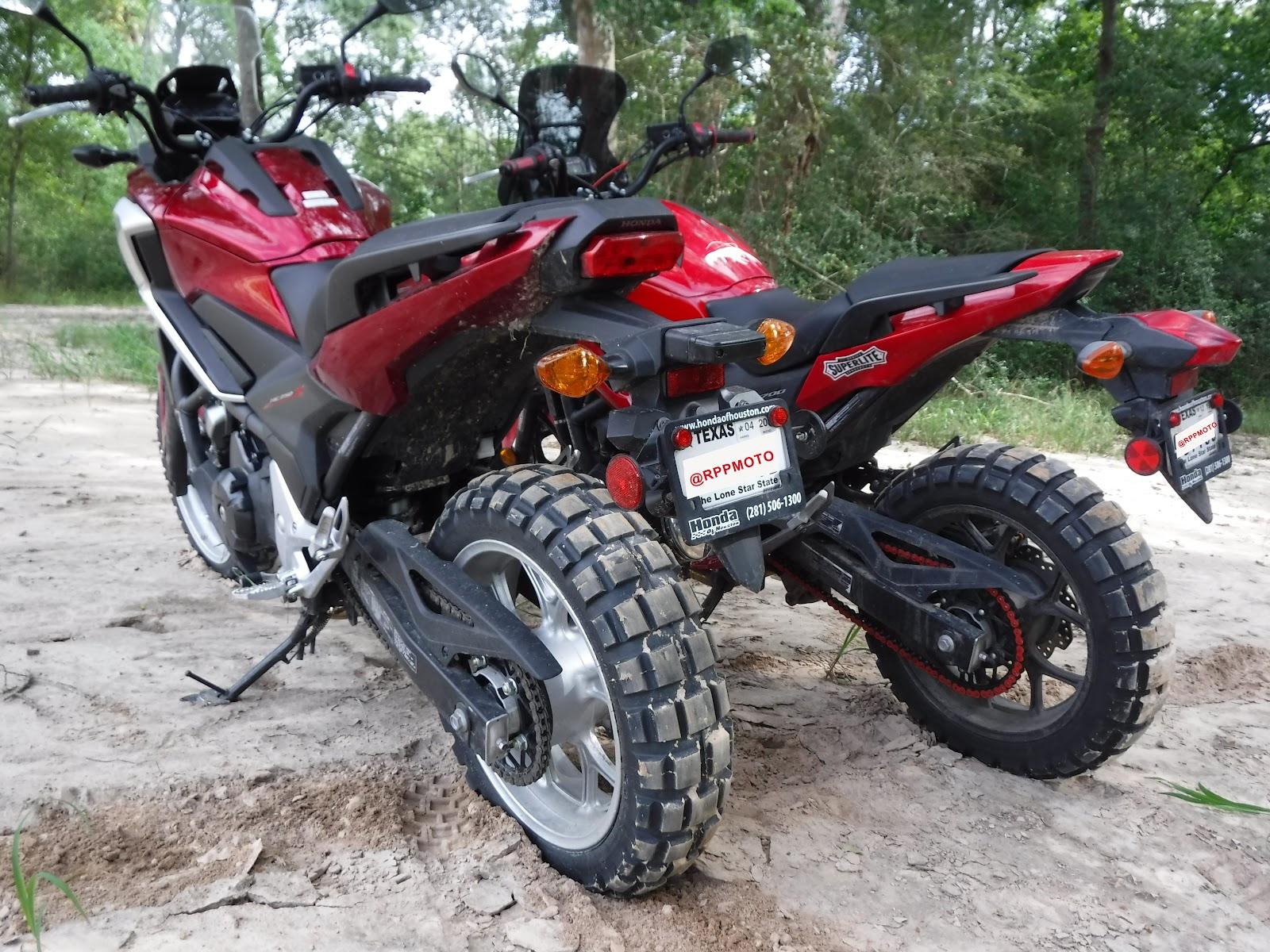 Honda NC750x and NC700x
