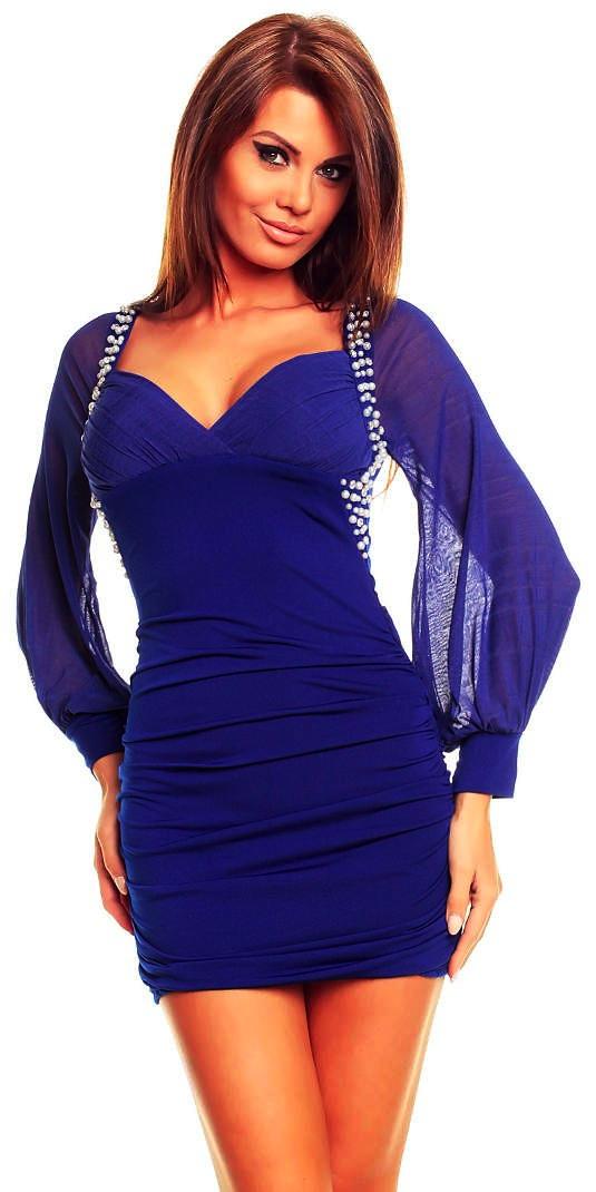 vestido azul / Blog Motufashion, tu tienda de ropa sexy online