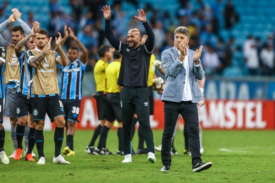Exemplos da Europa, atitude e confiança: como o Grêmio forjou a classificação na Libertadores