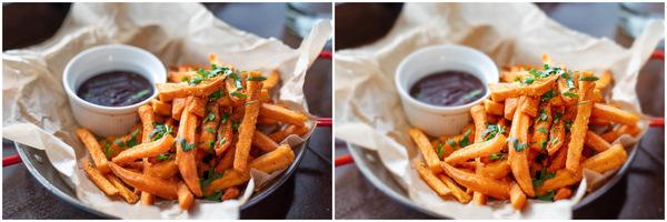 Comment retoucher vos Flat Lay de plats : Journée des frites!