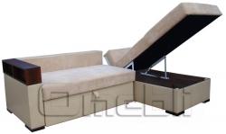 Фото угловой диван с коробом, Омебли
