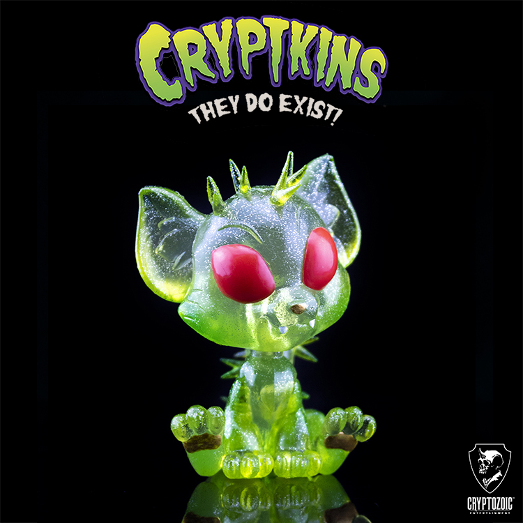 Cosmic Cat Cryptkins Vinyl Figure (Cryptozoic Con II Exclusive)