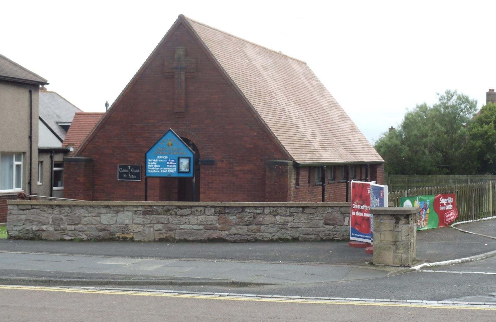 St. Aidan's Church in Seahouses
