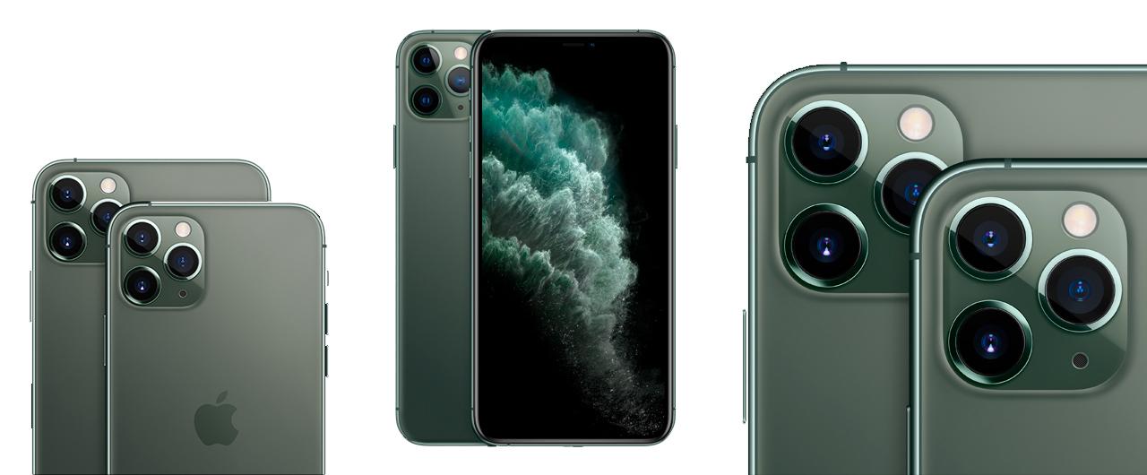 Apple iPhone 11 Pro Max внешний вид, обзор