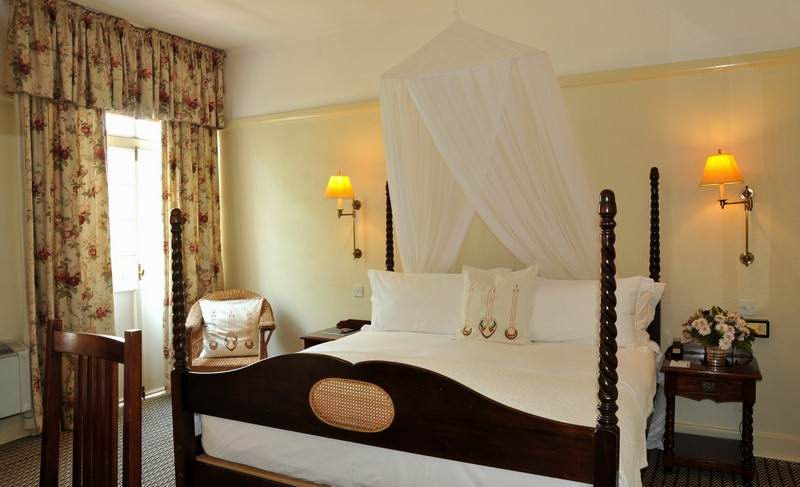 Old world charm at Vic Falls Hotel