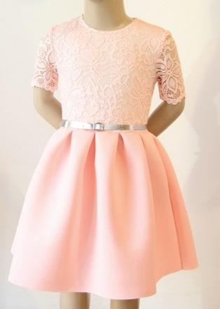 Sukienka z pianki dla dziewczynki