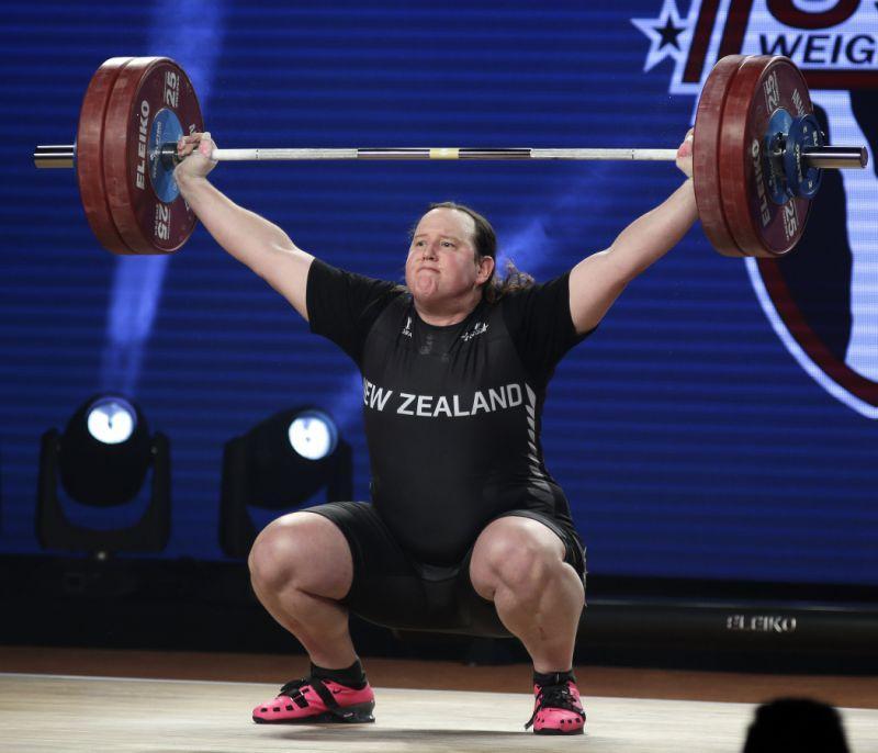Transgender weightlifter Laurel Hubbard wins silver medal