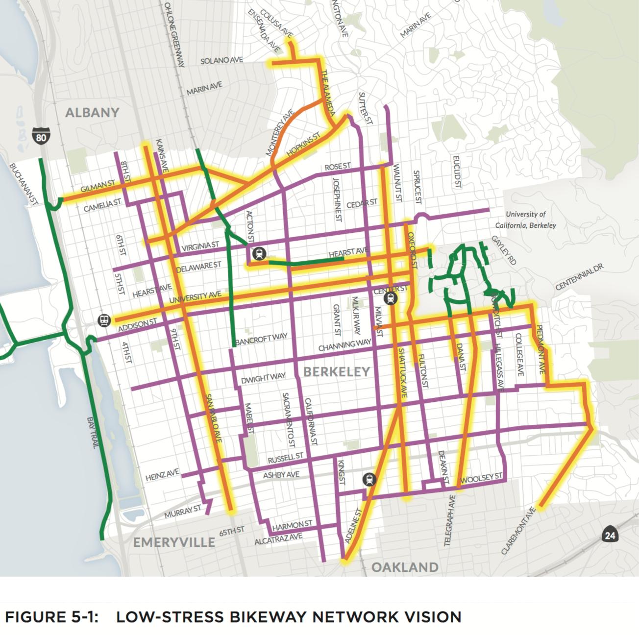 Berkeley Final Low Stress Bikeway Network.png