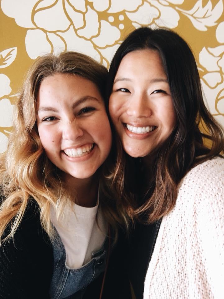 Lauren and Meagan