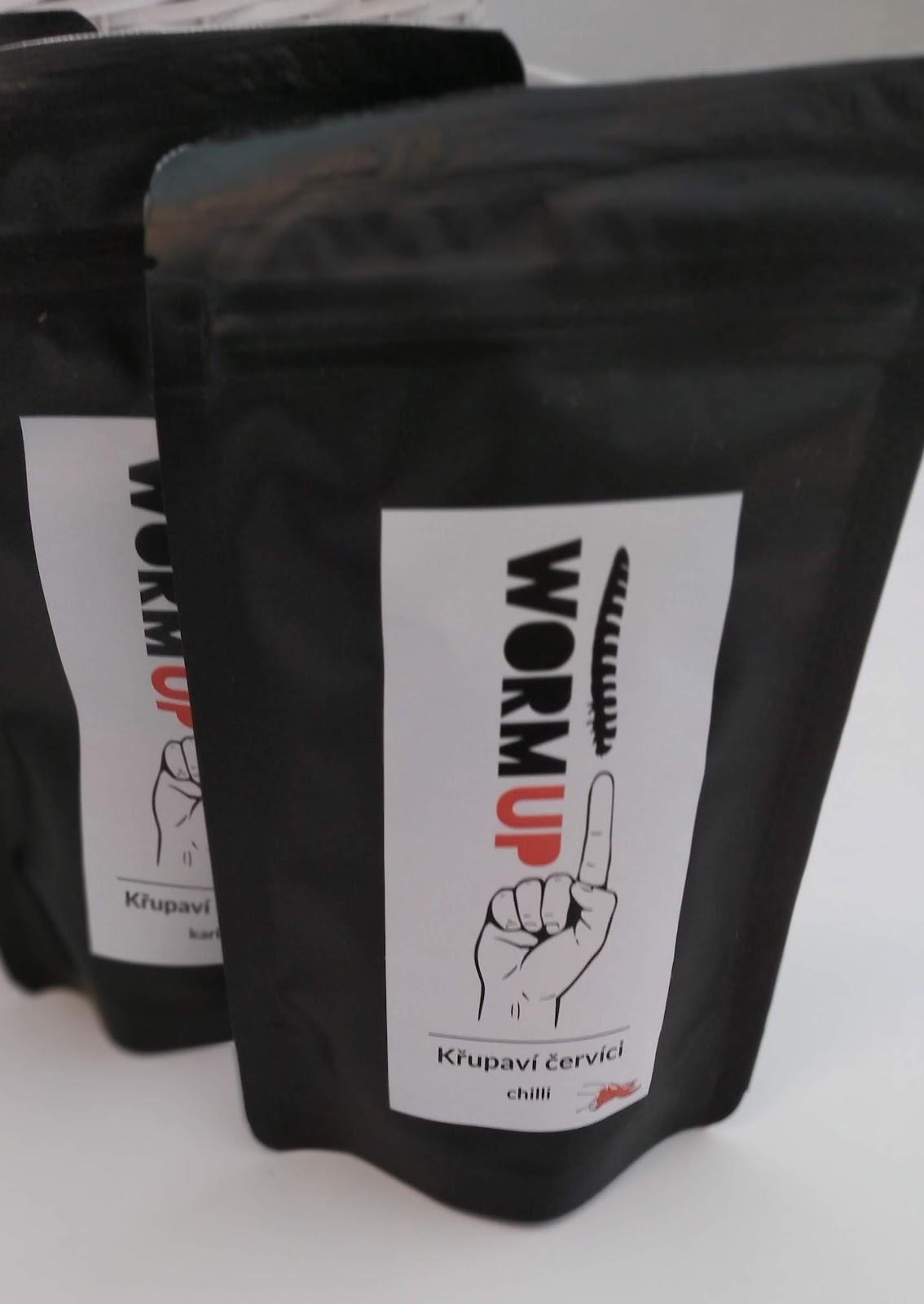 Recenze WormUP: Sušení červi příchuť chilli