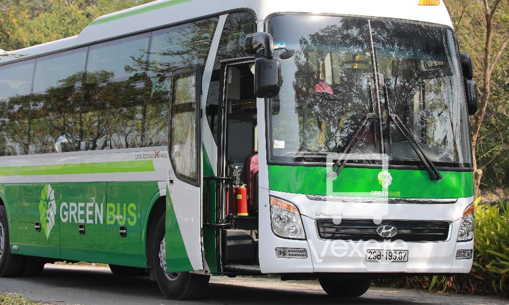 Xe giường nằm Green Bus đi Sapa
