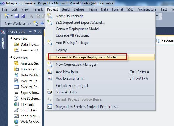 Uma's Blog :::: By default Package configurations Organizer