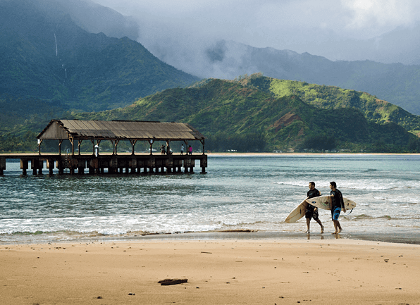 Best Places to Surf on Kauai