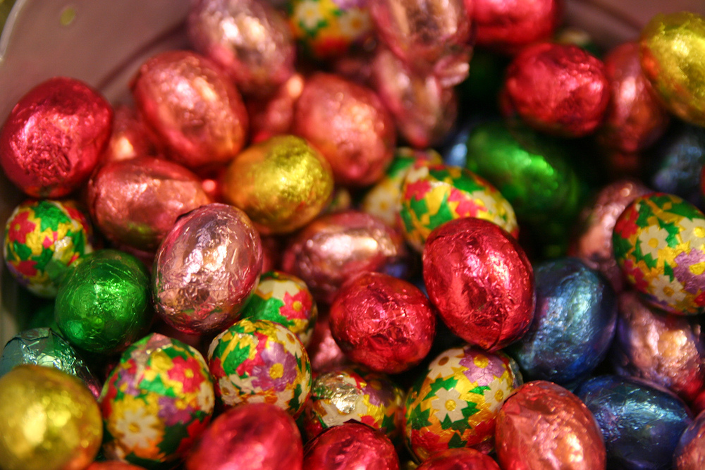 Foil Covered Chocolate Easter Eggs Mary Ann's Chocolates D… | Flickr