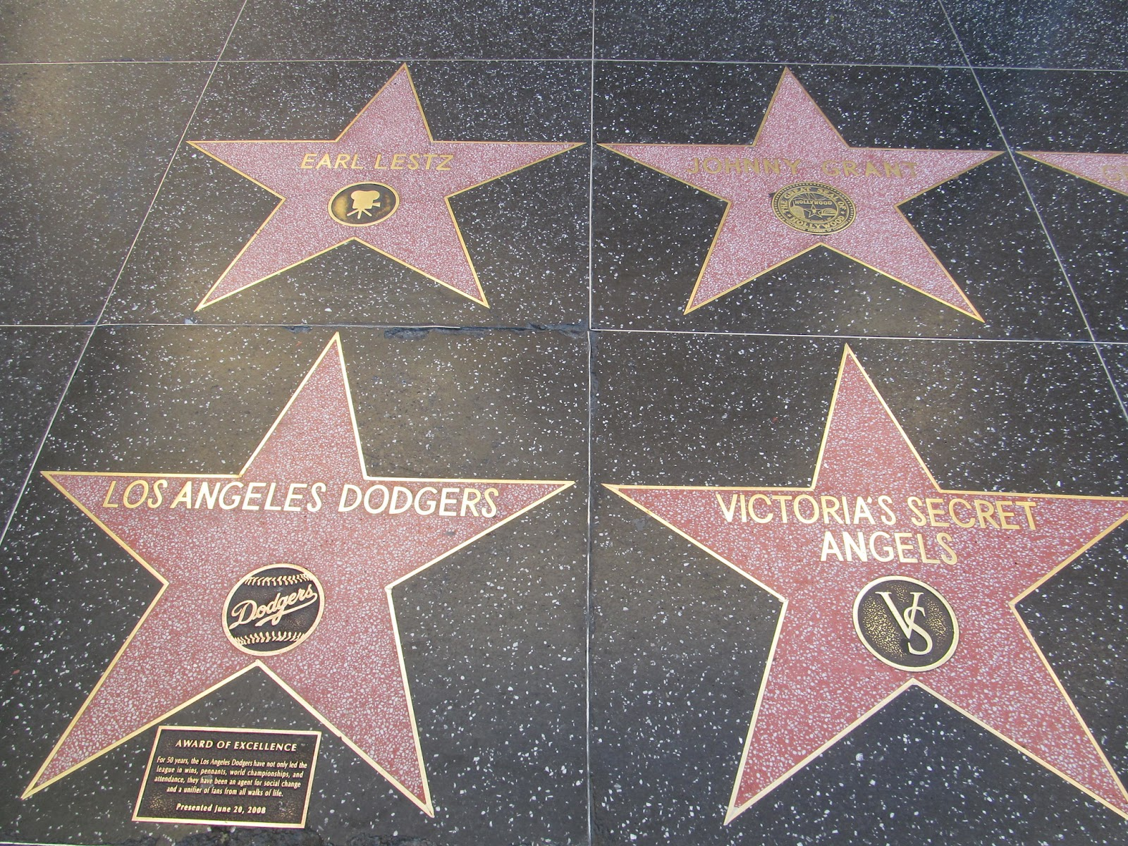 Hollywood Walk of Fame is one of the most important places in Hollywood