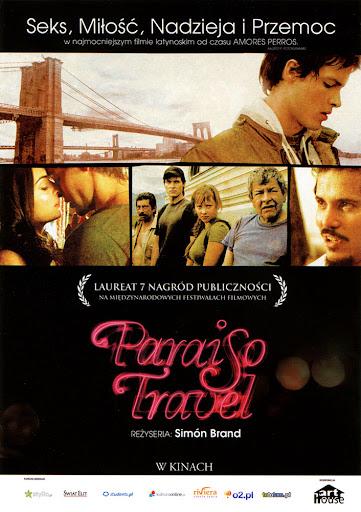 Przód ulotki filmu 'Paraiso Travel'