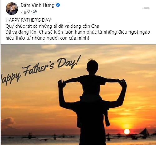 Sao Việt đồng loạt chia sẻ, gửi lời chúc ý nghĩa nhân Ngày của Cha Ảnh 4
