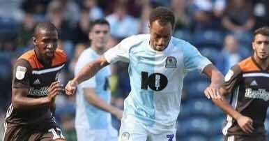 Soccer: Blackburn Rovers vs Brentford