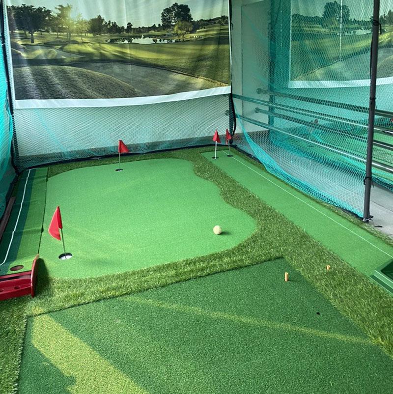 Trải nghiệm tuyệt vời khi chơi golf ngay tại nhà