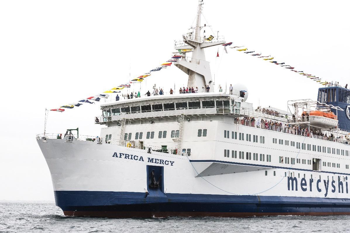 Mercy Ships boat