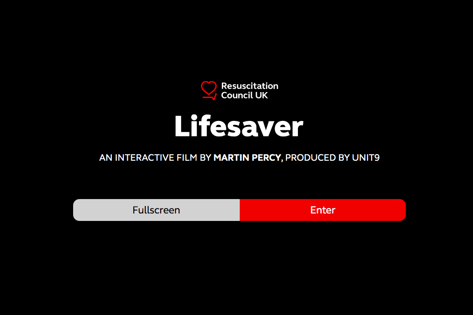 Lifesaver.org interactive video