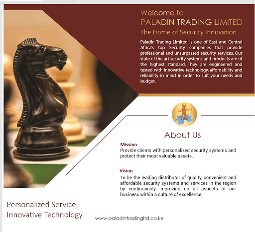 Paladin Trading Limited - Security System Supplier in Nairobi