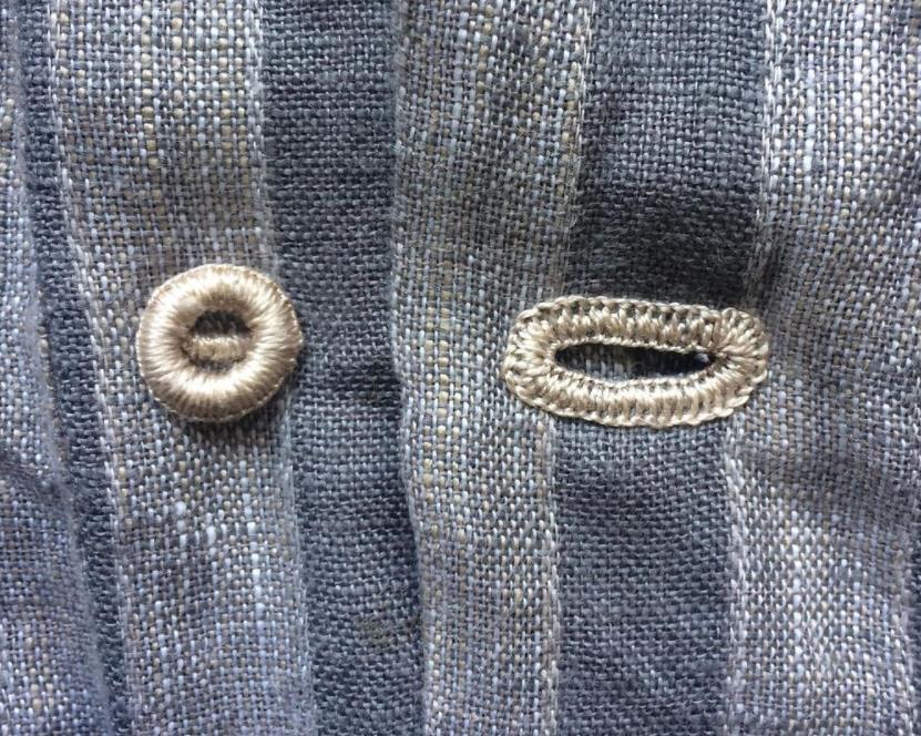 button holes