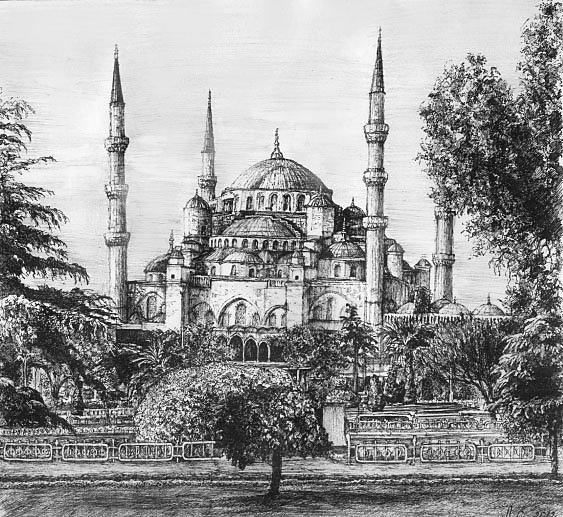 История Голубой мечети
