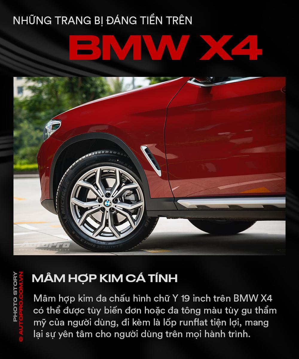 Những trang bị đáng tiền trên BMW X4 - Ảnh 8.