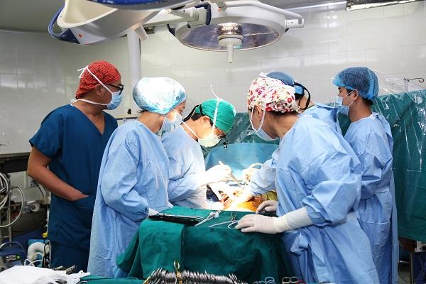 Phẫu thuật ghép gan