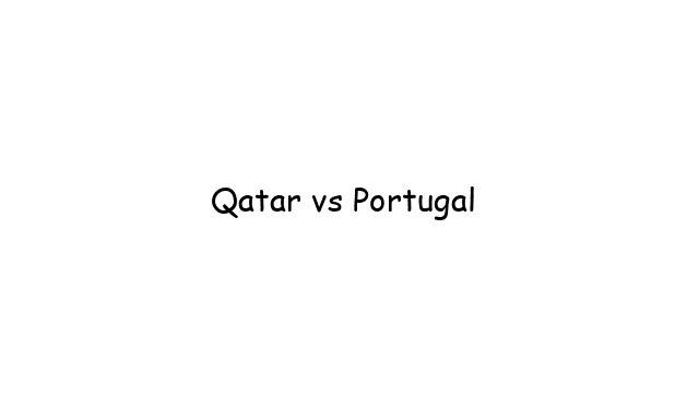 Qatar vs Portugal