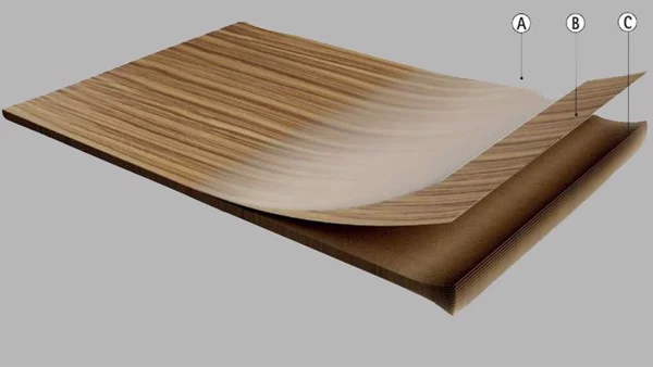 ván gỗ MDF phủ melamine là gì?