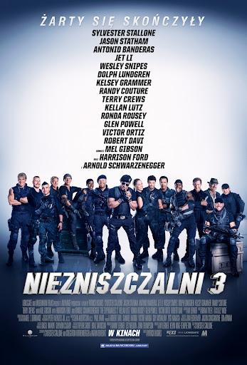 Polski plakat filmu 'Niezniszczalni 3'