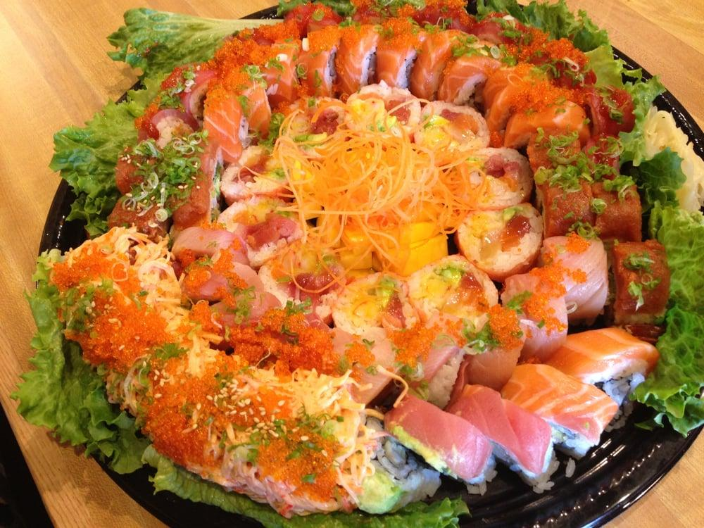 Photo of World Gourmet Buffet - Fremont, CA, United States. Catering-Sushi Deluxe
