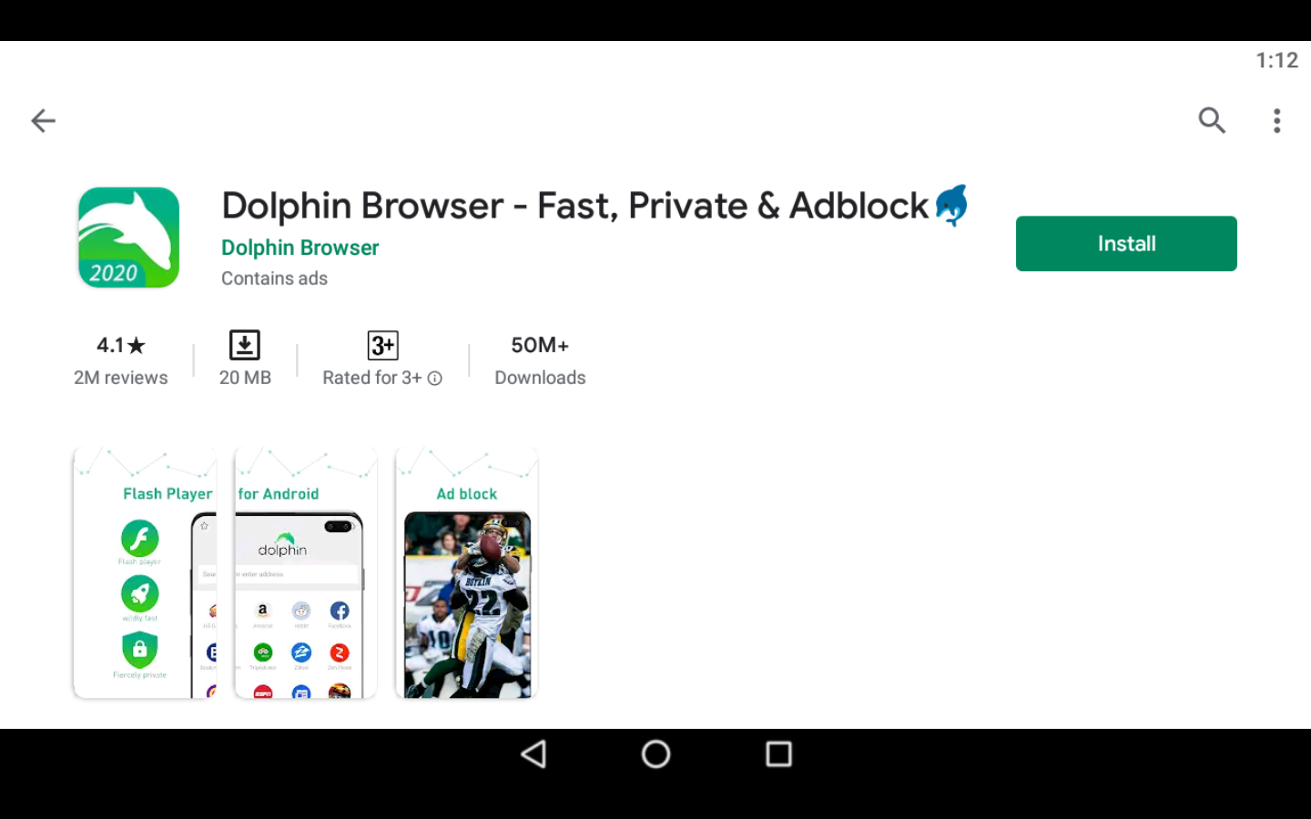 Dolphin Browser on PC