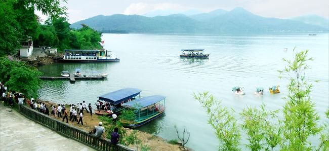 Giới thiệu khu sinh thái hồ Núi Cốc