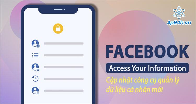 Facebook cập nhật Access Your Information cho iPhone, iPad
