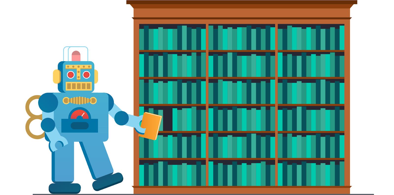Пример хранения страниц в индексе поисковой системы